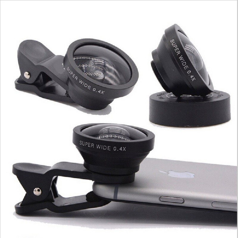 60380903548cb7 Super Wide Angle Mobile Phone Lens Smartphone Camera lenses Upgrade Version  Of Fish Eye For iPhone