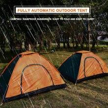 Складная палатка 3 Человек Кемпинг Охота постельные принадлежности Многоцветный Ткань Оксфорд москитная сетка прочный путешествия Туризм висячая кровать Одиночная