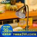 Глаз металл из светодиодов лампа-прищепка