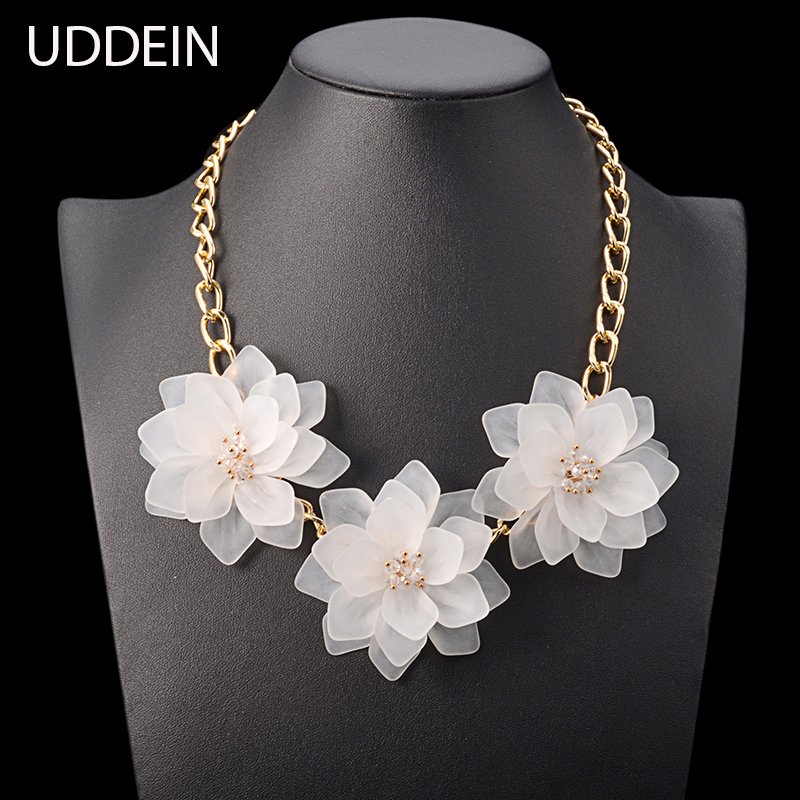 Choker Maxi Necklace Women Colorful Acry