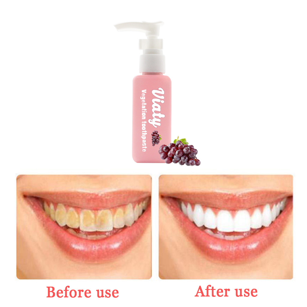 Tooth Care Natural Stain Removal Whitening Toothpaste Stain Toothpaste Fight Bleeding Gums Fresh Toothpaste   Y711(China)
