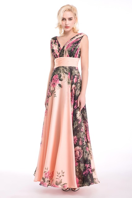 In Stock 100 Real Pic Long Bridesmaid Dresses Multi Color For