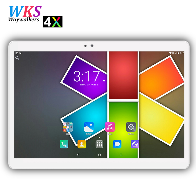 2018 newest 2.5D screen 10 inch Android 7.0 tablet pc 10 core 4GB RAM 64GB ROM 1920*1200 IPS Dual SIM card wifi Bluetooth tablet iwork10 ultimate 10 1 inch tablet pc dual boot windows10 android 5 1 intel quad core 4gb ram 64gb rom 10 1 ips 1920 1200 hdmi