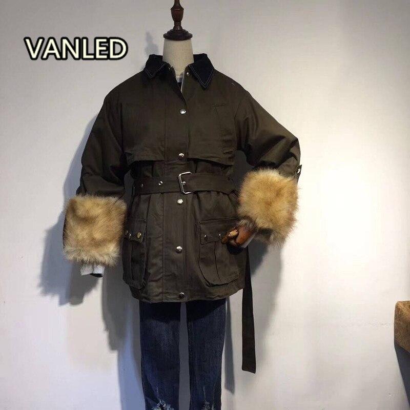 Casual Longue Filles Épaississent Green Coton army Black Chaud Vêtements 2017 D'hiver Nouveau Manteau Femmes Rembourré Lâche xXqtwtAvIZ