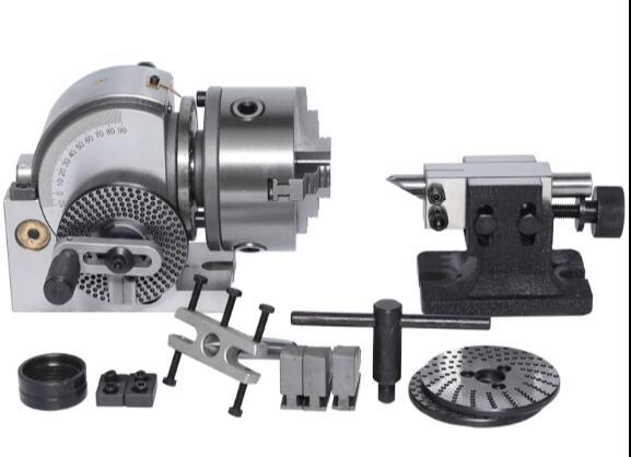 BS-0/BS-1 125MM precyzyjne frezowanie maszyny głowica rozdzielacz uniwersalny głowica rozdzielacz głowica rozdzielacz uniwersalny dzielnik 5 cal