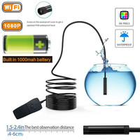 3 5M Wireless HD 1080P Waterproof Smart WIFI Mini Camera Inspection Endoscope For IPhone For Android