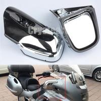 Мотоцикл левый и правый зеркала заднего вида боковое зеркало заднего вида для BMW K1200 K1200LT K1200M 1999 2008 2000 2001 2002 2003 2004 05