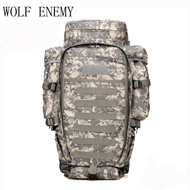 USMC Army Men Women Outdoor Military Tactical Backpack Camping Hiking Rifle Bag Trekking Sport Travel Rucksacks Climbing Bags 55l unisex outdoor military army tactical backpack trekking sport travel rucksacks camping hiking trekking camouflage bag