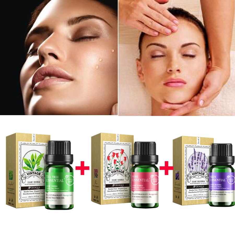 Pure Lavender, Rose ,Tea Tree,Beauty Eyes Essential Oils
