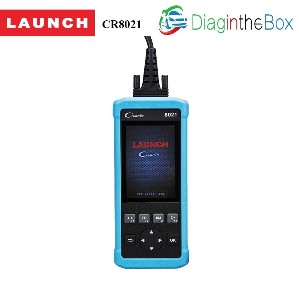 Старт DIY сканер CReader 8021 полный OBD2 сканер/сканирования инструмент диагностики БД + ABS + SRS + масло + EPB + BMS + SAS и бесплатное обновление через Интерн