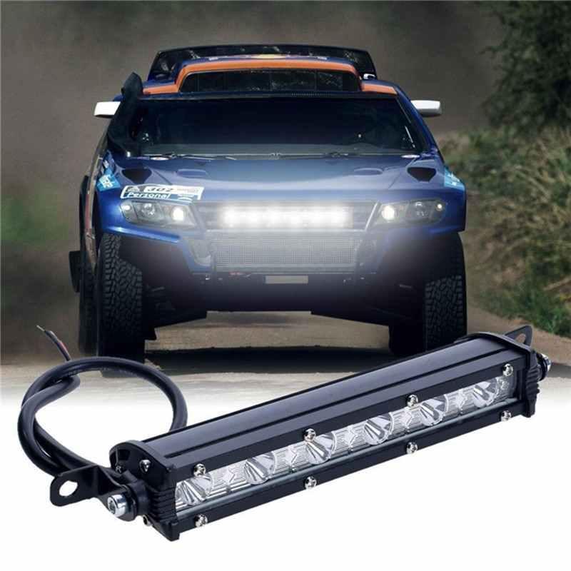 الضباب قبالة الطريق SUV سيارة قارب شاحنة 7 بوصة 18 واط 6LED قضيب مصابيح عملي مصباح قيادة