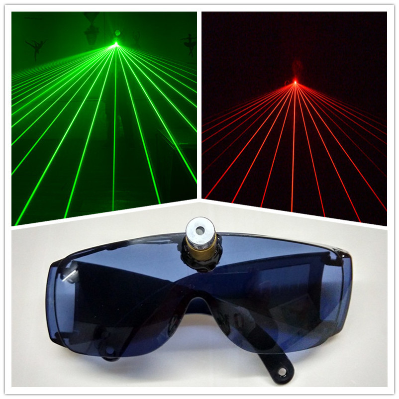 China factory cheap price high quality laser glasses dj glowing glasses for party stage show
