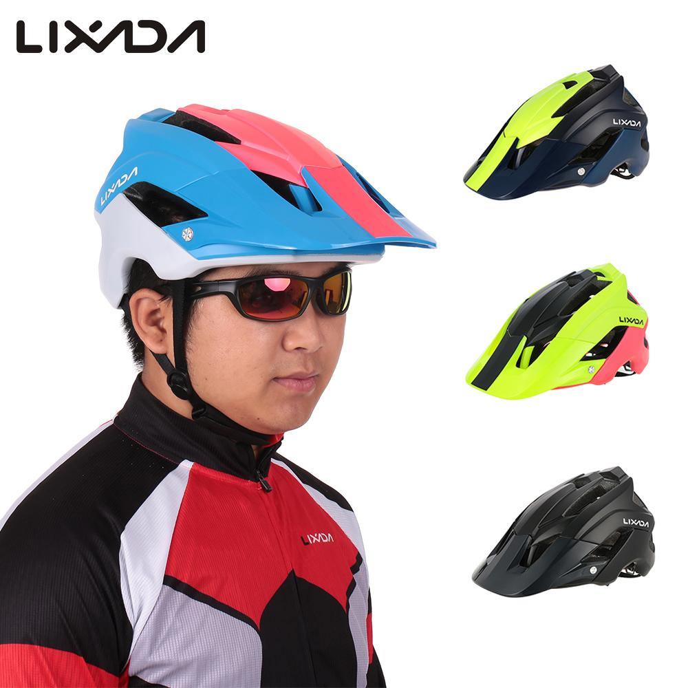 Lixada Casco Helmet Bicycle Cycling-Helmet Mountain-Bike Casqu Ultra-Light Bicicleta title=