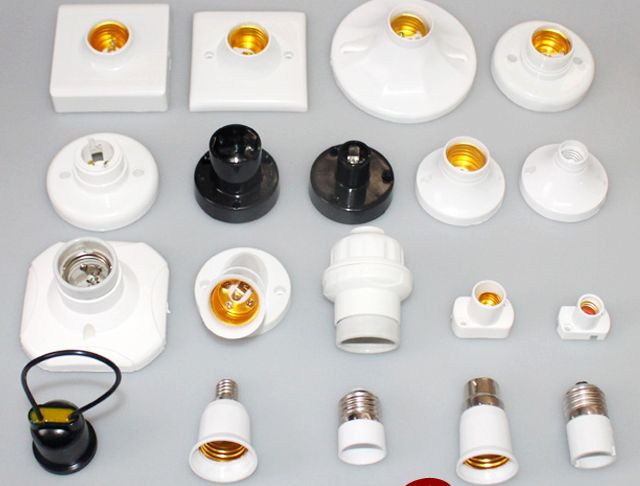3pcs/lot e27 Socket LED Bulb Holder Lamp Base e27 Lamp Holder ...