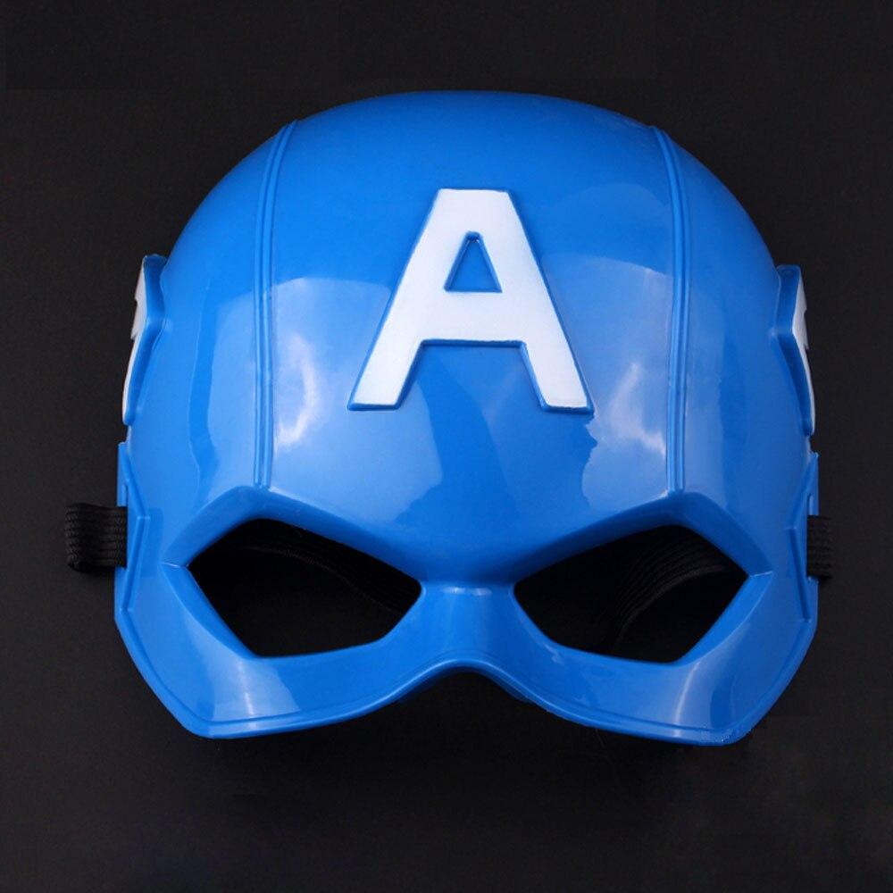 10pcs x Halloween Movies Captain America Mask Helmet Cosplay Party