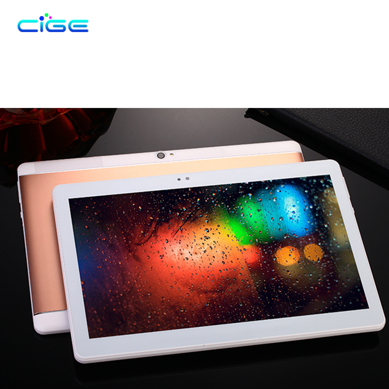 CIGE 10.1 Inch Original 3G 4G LTE Phone Call Octa Core Tablet PC Android 6.0 4GB RAM 64GB ROM WiFi GPS FM Bluetooth Tab Tablets free 10 1 inch tablet 3g 4g lte android phablet tablets pc tab pad 10 ips mtk octa core 4gb ram 64gb rom wifi bluetooth gps