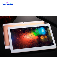 CIGE 10.1 Inch Original 3G 4G LTE Phone Call Octa Core Tablet PC Android 6.0 4GB RAM 64GB ROM WiFi GPS FM Bluetooth Tab Tablets