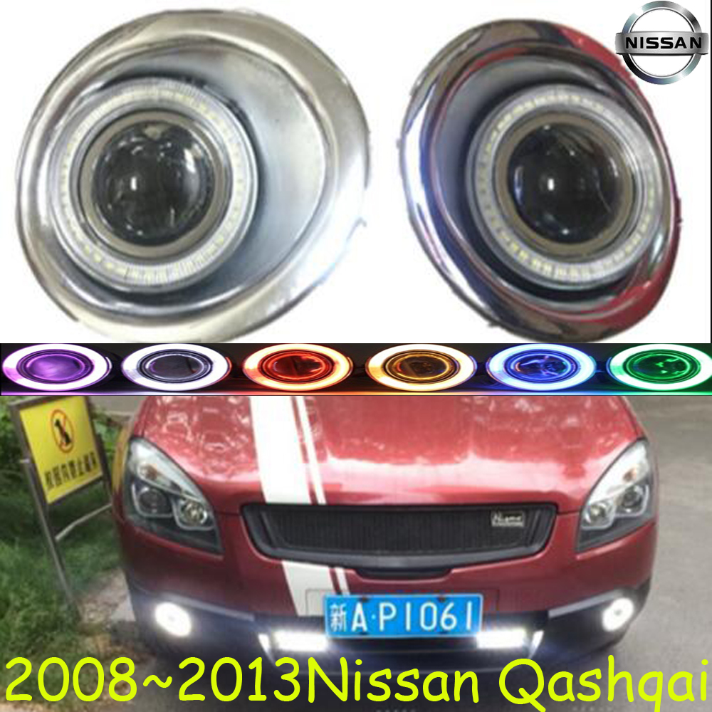 Qashqai fog light 2008~2012 Free ship!Qashqai daytime light,2ps/set+wire ON/OFF:Halogen/HID XENON+Ballast,Qashqai 2012 2015 d50 daytime light jazz free ship led d50 fog light 2ps set teana sylphy r50