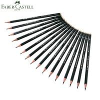 Faber Castell 16 Stks Schets Tekening Potloden Standaard Potloden 6H-8B voor tekening schrijven shading schets Zwarte Lood art supplies