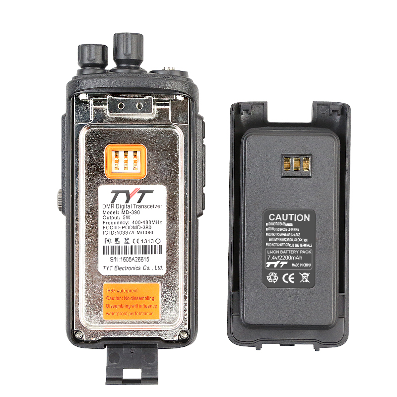 Image 3 - New Original TYT MD390 MD 390 DMR Digital Two way Radio/Walkie talkie UHF 400 480MHZ Long Range with Free Cable and Earpieceuhf taguhf handhelduhf radio -