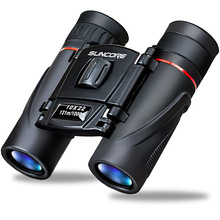 Zoom Telescope 10x22 Folding Binoculars with Low Light Night Vision for Outdoor Bird Watching Travelling Hunting Camping