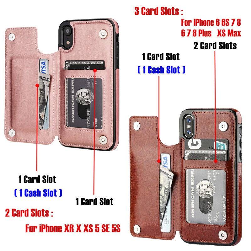HTB1RyOwTwHqK1RjSZFgq6y7JXXaW Luxury Slim Fit Premium Leather Cover For iPhone 11 Pro XR XS Max 6 6s 7 8 Plus 5S Wallet Case Card Slots Shockproof Flip Shell