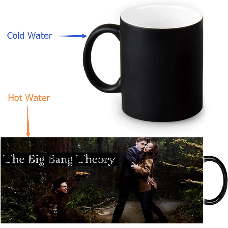 Beautiful The Bang Theory Magic Color Changing Coffee Mug Morphing Milk Mugs 350ml 12oz Tea Gift In From Home Garden On