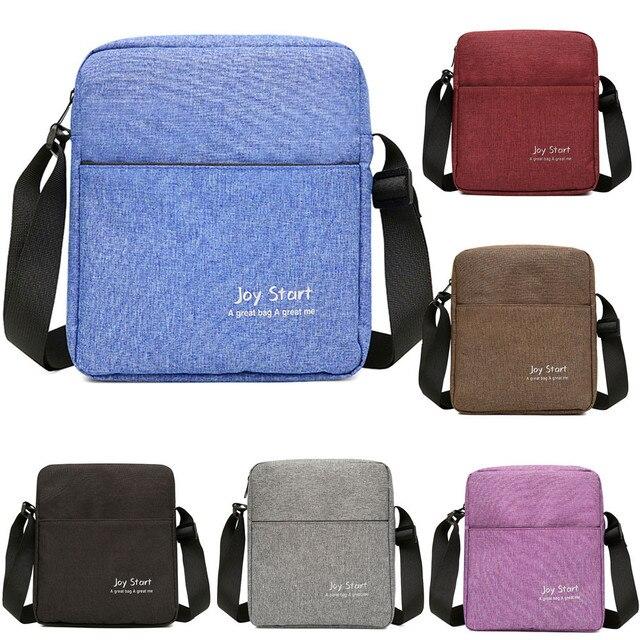 High Quality Men Crossbody Bag Pack Multifunctional Bag Shoulder Messenger Bag Handbag