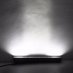 """Image 5 - 22 """"34"""" 42 """"50 inç tri row kavisli LED ışık çubuğu SUV ATV Uaz UTV 4x4 12V tekne kamyon Offroad Combo kirişler Barra çalışma lambaları"""