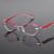 Óculos de acetato de Mulheres Sem Aro Miopia óculos de Leitura Prescrição Progressive Photochromic Óculos Espetáculo com lentes Cor 258010