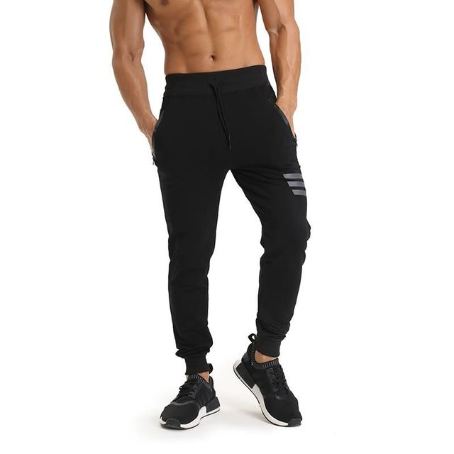 Breathable Fitness Workout Men's Pants 1