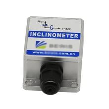 Interruptor Sensor De Ângulo de Inclinação Dinâmica BW-VG50 Duplo Eixo duplo Inclinômetro Precisão 3/0. 3 Resolução 0.01 PODE RS232 RS485 TTL 30mA