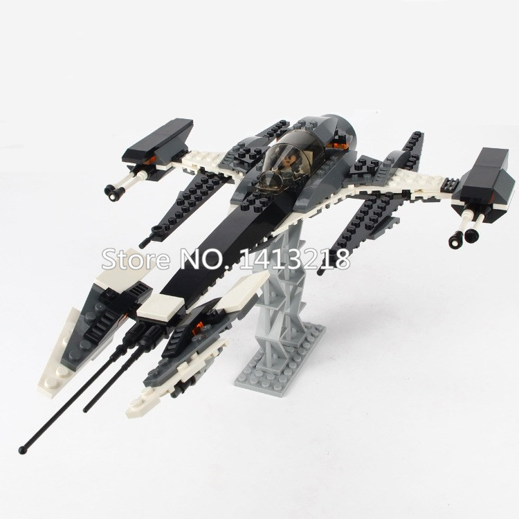 184pcs Phatom X Wing Fighter STAR war Technic Airplane Aircraft Model Building Block Figure Gift Boy Educational Toy Children  fms 1100mm p 51d light fighter old crows world war ii fixed wing rc aircraft