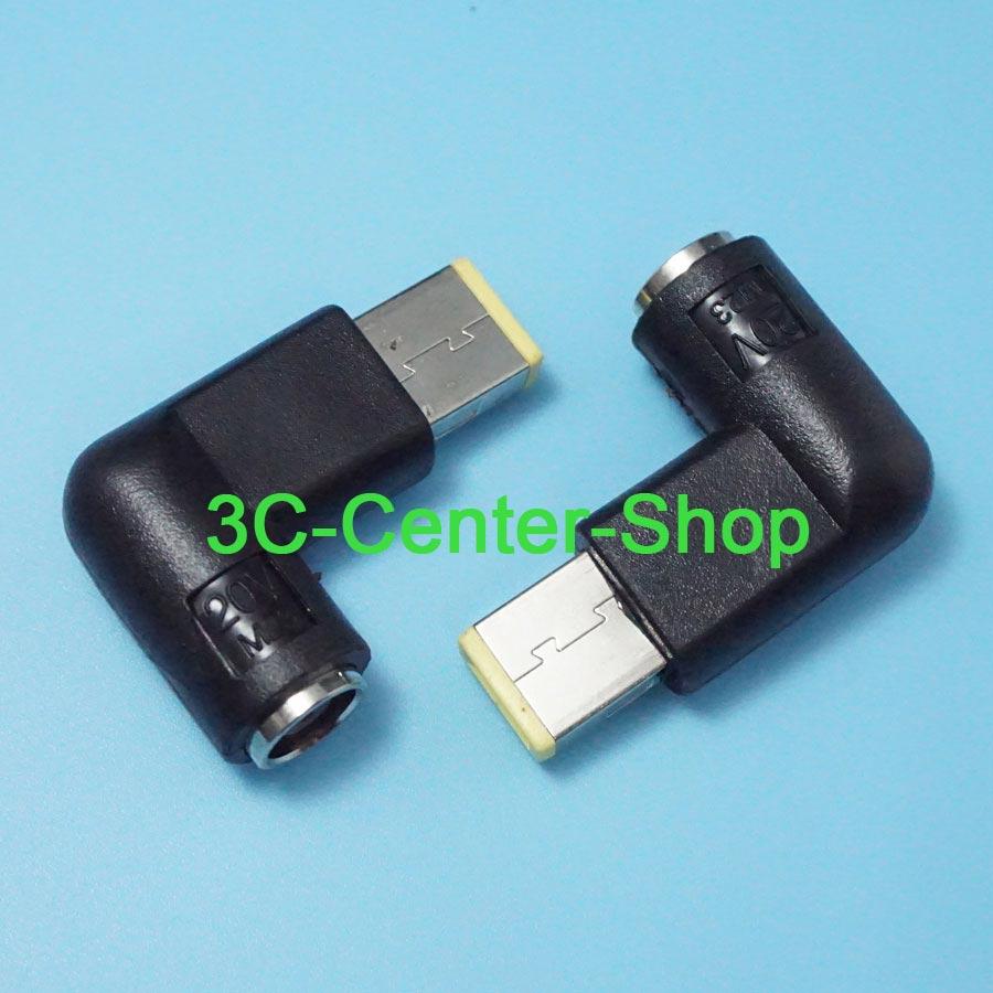1 Stücke 7,9*5,5mm Ellenbogen Tragbare Platz Usb Dc Tipps Für Adapter Power Ladegerät Konverter Für Laptop Lenovo