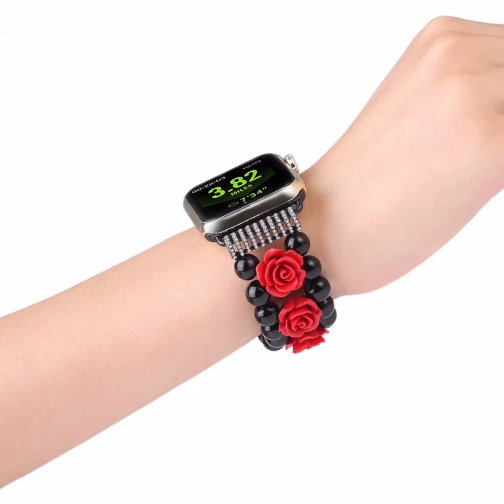 Women's Watch Strap For Apple Watch Series 1 2 3 Wrist Band Luxury Hand Made By Jewelry Bracelet For Apple Watch Series iWatch luxury watch strap for apple watch series 1 2 3 wrist band high quality metal mechanical chain design band for apple iwatch