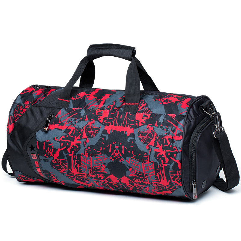 High Quality 18L / 33L Camo Color Shoulder Sports Bag For Gym Shoes Storage Basketball Bag Women Dance Yoga Fitness Bag HAB502