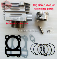 BIG BORE Barrel Cylinder Piston Kit 150cc 62mm for GS125 GN125 EN125 GZ125 DR125 TU125 157FMI K157FMI engines