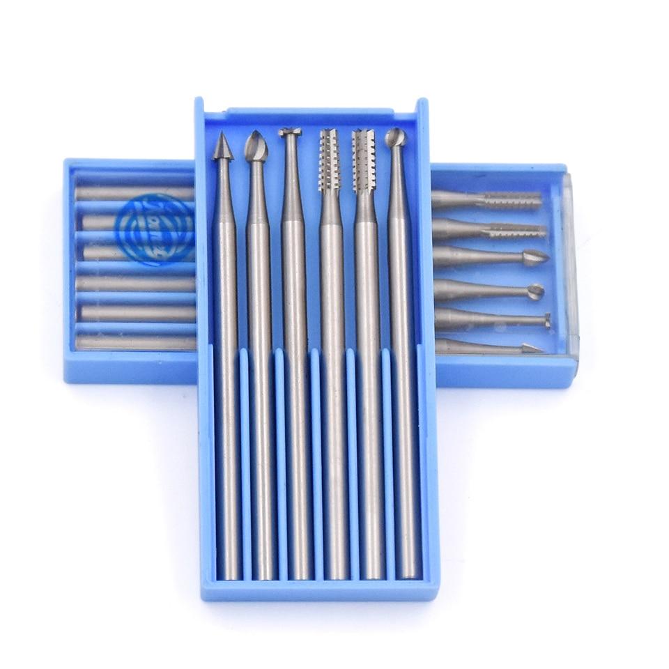 6 vnt plieniniai sukamieji šlifavimo įrankiai, šlifavimo - Abrazyviniai įrankiai - Nuotrauka 1
