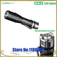 Дизайн SUNWAYMAN C22CC два светильник flashight Cree XM-L2 U2 светодиодный/Cree XP-G2 R5 светодиодный 820 люмен использовать 18650/16340/CR123A батареи