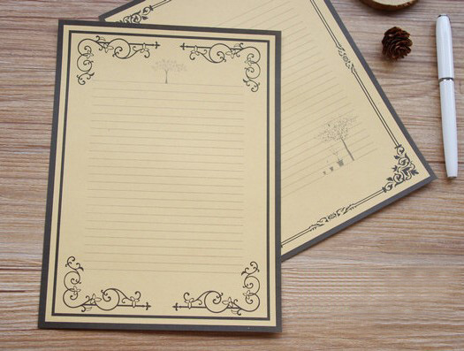 New Design!Europe Type Restoring Ancient Ways Is Kraft Paper Series  Beautiful Decorative Pattern Writing  Design Paper For Writing