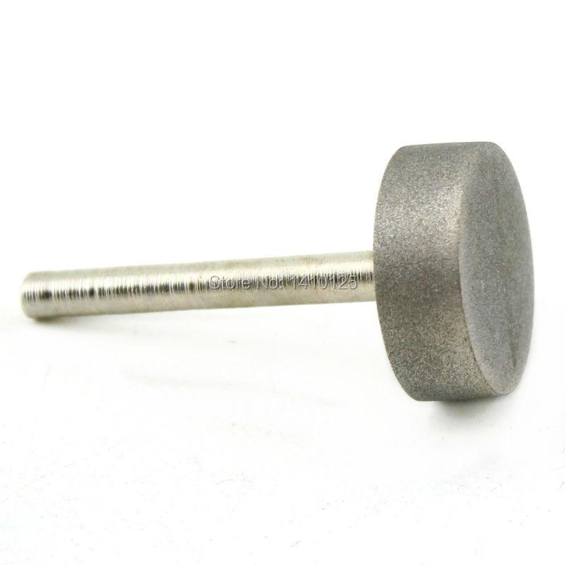 Diamantová brusná hlava 30 mm Válec potažený upevněnými body - Brusné nástroje - Fotografie 5