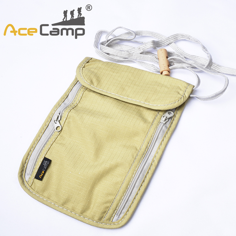 AceCamp Bag Card Holder Liner Handbag Travel Camping Passport Neck Stash Security Pouch Wallet Light Khaki Free Shipping AceCamp Bag Card Holder Liner Handbag Travel Camping Passport Neck Stash Security Pouch Wallet Light Khaki Free Shipping