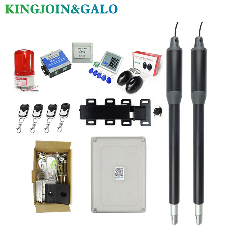 Electric Linear Actuator 200kg-300kgs Engine Motor System Automatic Swing Gate Opener + Electronic locks