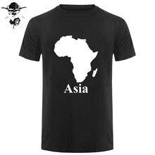 b79997a45 AFRICA ASIA T SHIRT FUNNY PARODY MAP MEN WOMEN KIDS Cool Casual pride t  shirt men