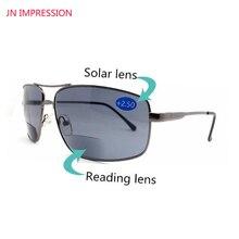 82297b8a7f Gafas De sol bifocales De lectura presbiópicas para pesca al aire libre con  diopters lectores Gafas De lectura hombres Oculos De.