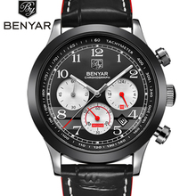 BENYAR Top Brand Luxury Men's Watches Quartz Watch Men Sport Wristwatch Male Clock Business Waterproof Watch Relogio Masculino цена и фото