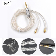 KZ Replacement Cable With MMCX interface earphone Silver Plating Upgraded KZ Cable For Shure SE535 SE846 UE900 DZ7 DZ9 DZX LZ A4