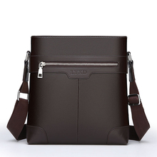 Top Sell PU Leather Fashion Briefcase Bag Famous Brand Men Laptop