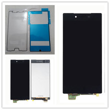 Black Touch Screen Digitizer Sensor+LCD Display Monitor Panel Assembly For Sony Xperia Z5 Premium Z5P Z5 Plus E6833 E6853 E6883 full lcd display monitor touch screen panel digitizer sensor assembly for sony tablet z2 xperia sgp511 sgp512 sgp521 sgp541