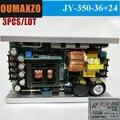 3 шт./лот  300 Вт  350 Вт  36 шт.  масштабируемый светодиодный движущийся головной свет  источник питания DC12V  DC24V  DC36V  led  4 глаза  cob  матрица  источник...